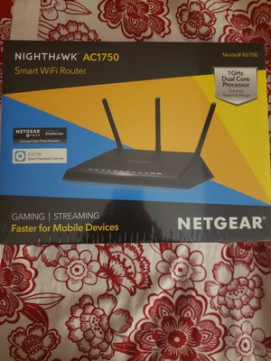 NETGEAR Nighthawk Smart WiFi Router for Sale in Ontarioville, IL