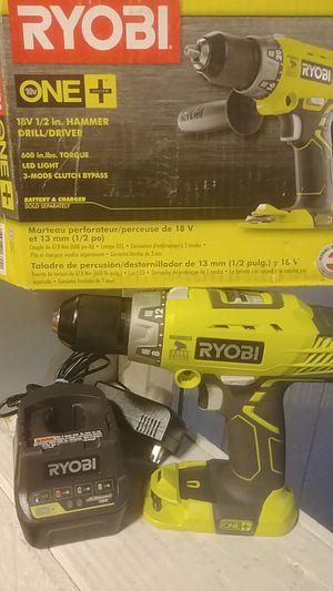 Ryobi 18v hammer drill for Sale in Kansas City, MO