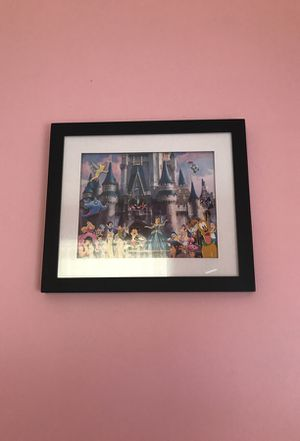 Disney Frame With Characters for Sale in Fairport, NY