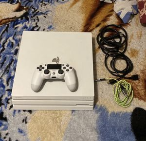PS4 Pro Glacier White Limited Edition for Sale in Hillcrest Heights, MD