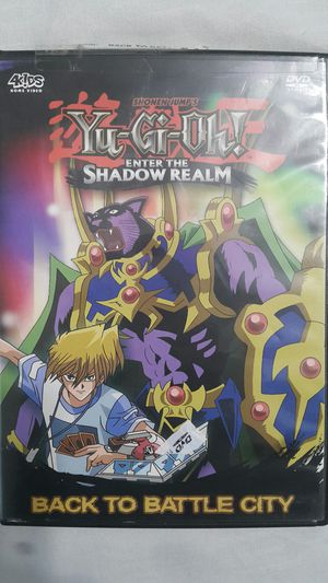 YUGIOH ENTER THE SHADOW REALM DVD for Sale in Miami Gardens, FL