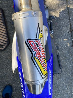 PRO CIRCUT T4 exhaust and full pipe -LIKE NEW - fits TTR 110 for Sale in Maple Valley, WA