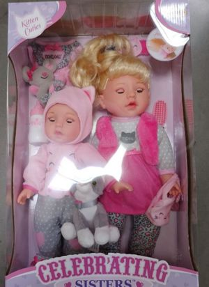 Baby Dolls Celebrating Sisters 2pc Gift for Sale in Phoenix, AZ