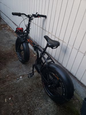 Rad mini electric folding bike ebike , 750 watt for Sale in Tacoma, WA