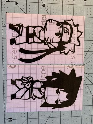 Naruto and sasuke decal for Sale in Vallejo, CA