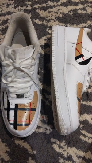 Custom Burberry Air Force 1 for Sale in Conley, GA