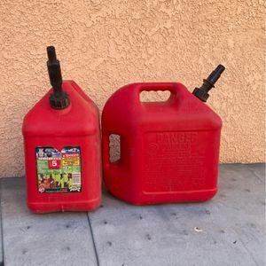 5 Gallon Gasoline Container for Sale in Riverside, CA