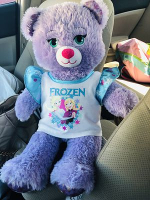 Frozen purple bear stuffed animal for Sale in Delray Beach, FL