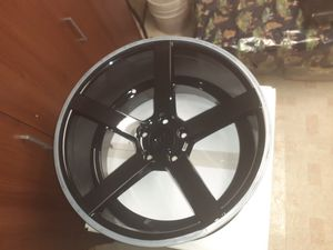 Mustang wheels and tires for Sale in Dearborn, MI