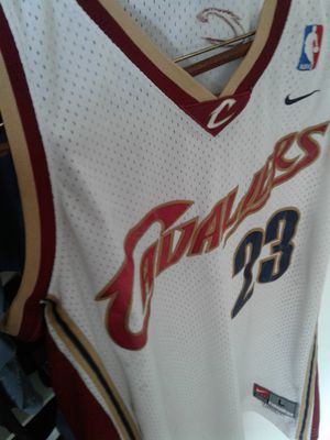 Lebron James Official Cavs Jersey , And Jordans city Skyline Limited Addition for Sale in San Diego, CA
