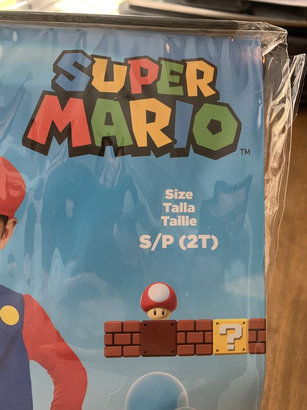 Super Mario costume, size 2T