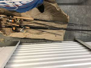 NEEDS TO GO BY FRIDAY!! 4x complete Very very good deep sea/salt water fishing rods for Sale in Calabasas, CA