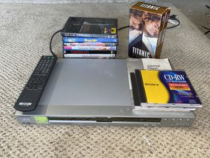 Sony DVD Player Bundle With Remote Manual And DVD Lot for Sale in Syosset, NY