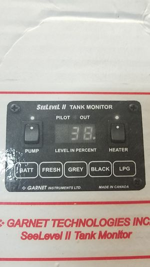 Garnet technologies RV tank monitor for Sale in Las Vegas, NV