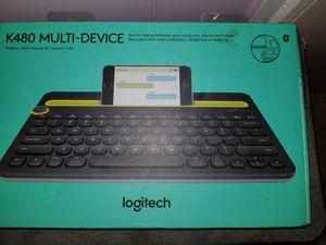 Logitech K480 Bluetooth Multi Devices Keyboard for Sale in US