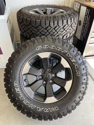 "18"" new Dodge Ram rebel rims and tires for Sale in Murrieta, CA"