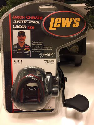 Lew's Jason Christie speed spool Lazer LZR baitcaster for Sale in Gainesville, VA