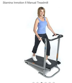 In motion 2 manual treadmill barely used. Smoke and pet free home. for Sale in Jersey City, NJ