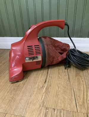 Vintage Royal Dirt Devil Red Hand Held Vacuum Cleaner Model 103 Works! for Sale in Port Richey, FL