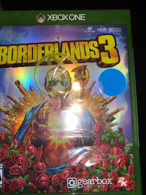 Borderlands 3 new sealed Xbox one for Sale in Irving, TX
