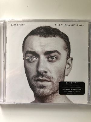 Sam smith CD NEW SEALED - The Thrill of it All album for Sale in Everett, MA