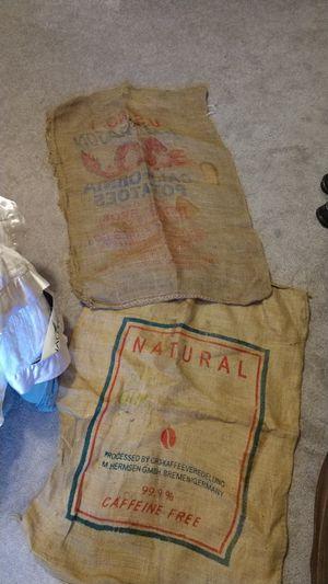 Burlap Sacks for Sale in Hudson, IL