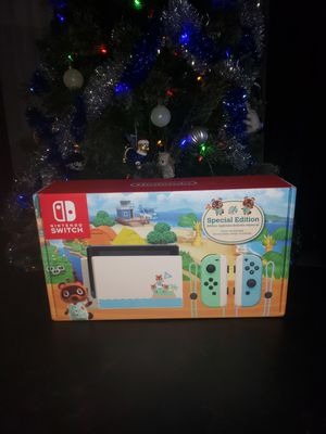Nintendo switch animal crossings edition for Sale in Miami Gardens, FL