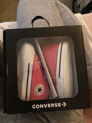 Baby converse for Sale in Hayward, CA