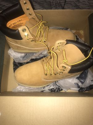New Men's Timberland 6 inch Premium BT WHT Waterproof Boots for Sale in Cleveland, OH