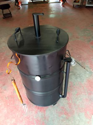 Ugly Drum Smoker barrel. 55 gal. Grill or BBQ pit. for Sale in Humble, TX