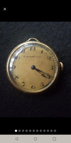 Tiffany & Co 1920 solid 18k lady's pocket watch for Sale in Lynnwood, WA