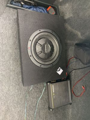 Subwoofer and amp for Sale in Woodbridge, VA
