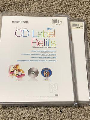 Memorex CD / DVD Labels 500+ for Sale in San Antonio, TX