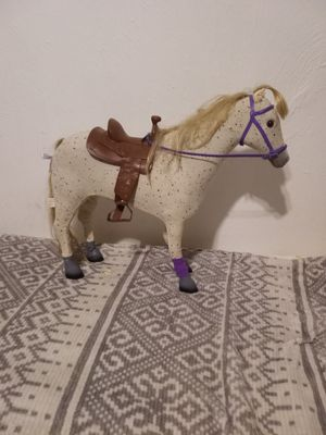 Children toy horse in good condition asking 4.50 much go movering for Sale in Lancaster, PA