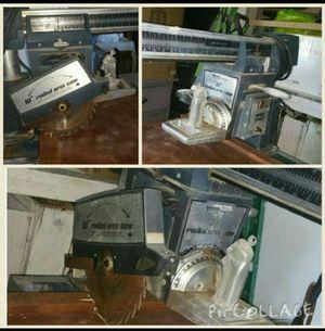 Radial arm saw for Sale in Phoenix, AZ