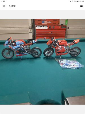Lego 42036 and custom version in red crotchrocket GSXR 1000 for Sale in Lakewood, CO