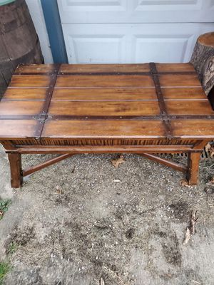 Medieval looking coffee table for Sale in Harmony Grove, WV