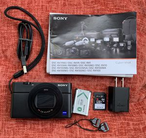 Sony Cyber-shot DSC-RX100 VI Digital Camera for Sale in Edison, NJ