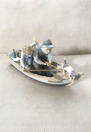 "Lladro ""Fishing with Gramps"" Figurine for Sale in Aurora, IL"