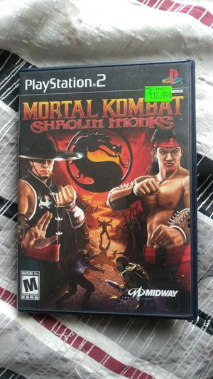 Mortal kombat shaolin monks (ps2 game) for Sale in Columbus, OH
