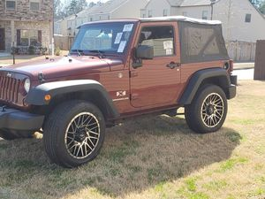2007 Jeep Wrangler X-Type for Sale in Peachtree Corners, GA