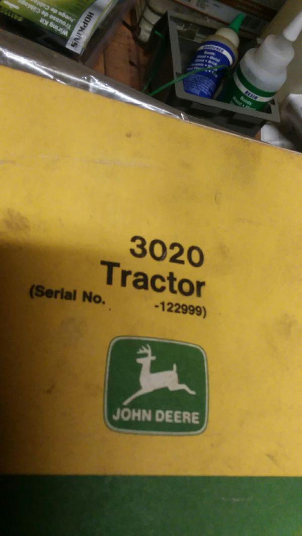 John deerTractor manual