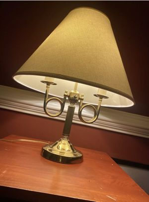 BEAUTIFUL!! Vintage office lamp bouillotte ALSY USA Brass 2 Candle. for Sale in Williamsburg, VA