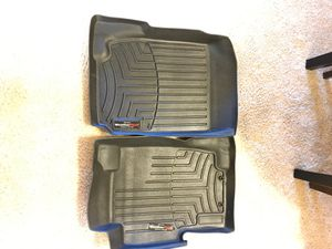 WEATHER TECH BLACK FLOOR LINERS FRONT for Sale in San Diego, CA