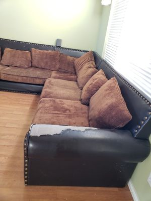 Large sectional as is for Sale in Chandler, AZ