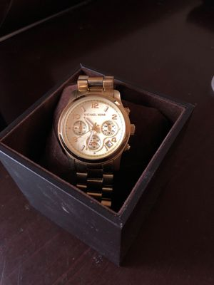 Michael kors gold watch for Sale in North Potomac, MD