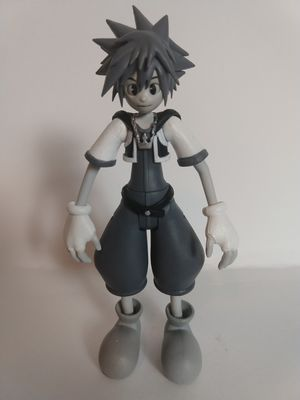 Kingdom Hearts Black and White Sora Figure for Sale in Grand Prairie, TX