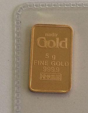 5 gram gold bar for Sale in El Paso, TX