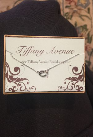 Tiffany Avenue Bridal Infinity Necklace New in Box for Sale in San Diego, CA