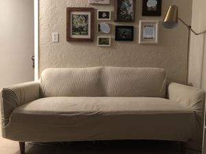 Grey sofa (available until 09-28-2020) for Sale in Punta Gorda, FL